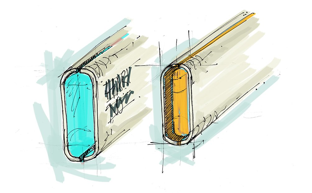 Signage sketches for Ikano Shopping Centre in Malaysia