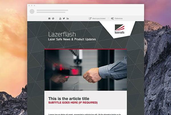 Lazer Safe Email Marketing