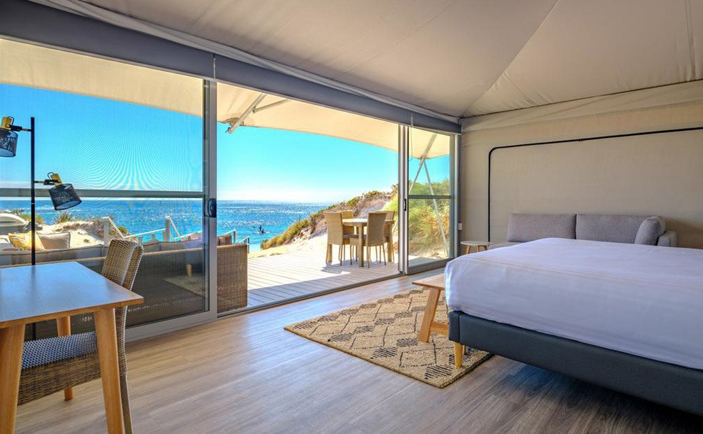 Glamping on Rottnest Island