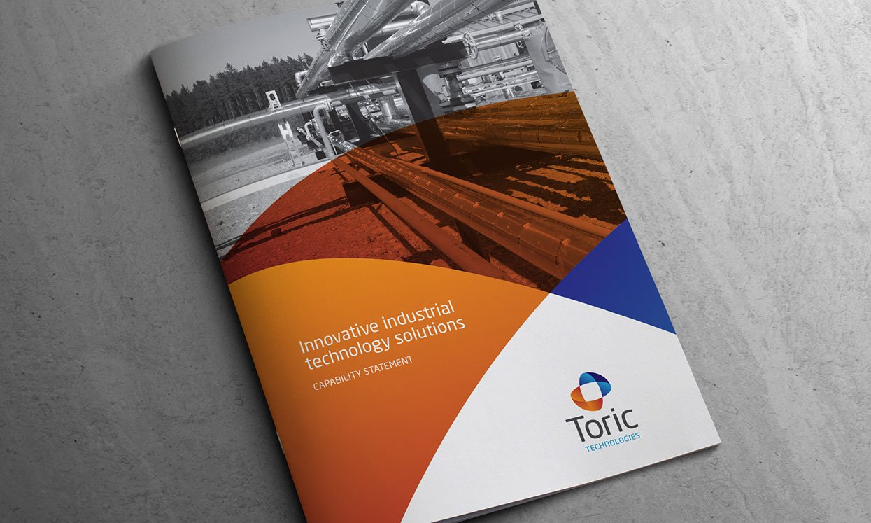 Toric Technologies Capability Statement Brochure Cover