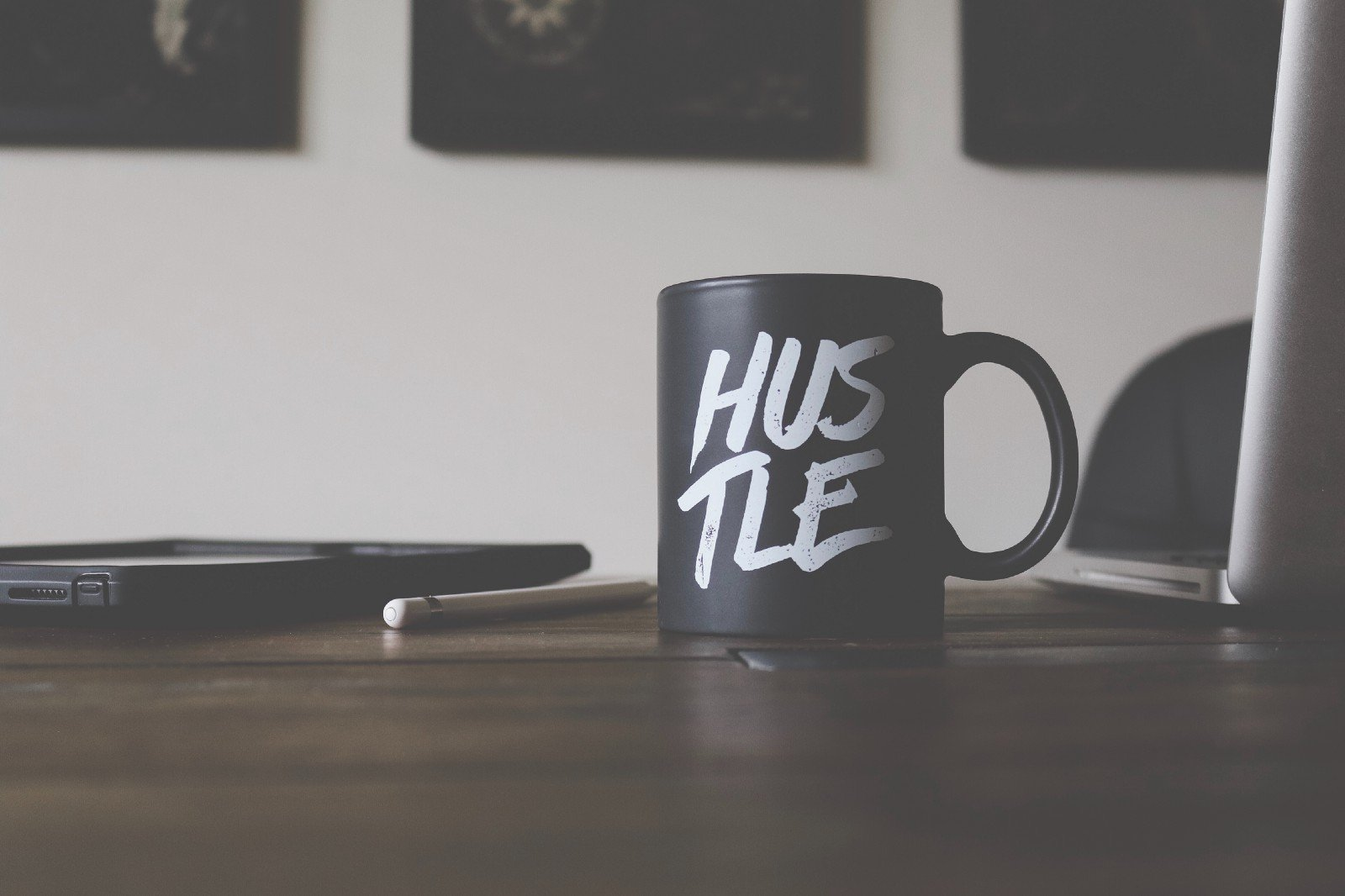 Less hustle, more bustle.