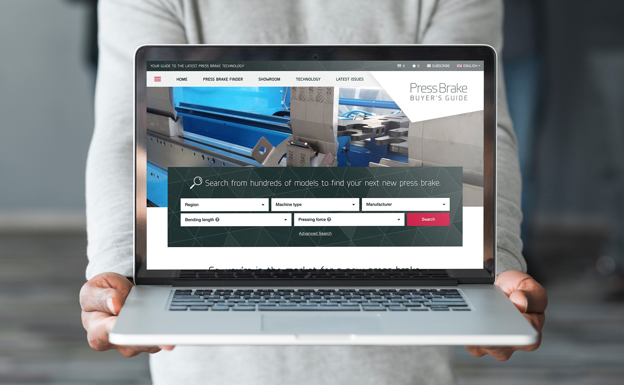 The Press Brake Buyer's Guide homepage